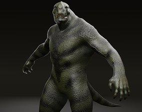 3D model Reptiloid