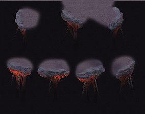 3D Cartoon hell - wail abyss