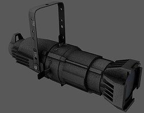 Source 4 Theatre Light - Game-Ready 3D asset