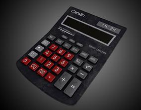 Calculator 3D asset VR / AR ready
