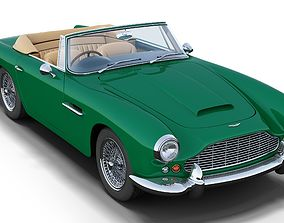 Aston Martin DB4 Convertible 3D model