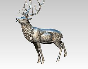 Deer High Detailed full body 3D print model