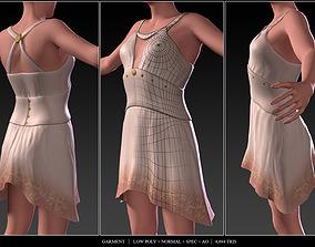 3D asset Dress Outfit AAA