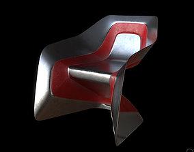 3D asset Sci-fi Chair