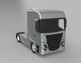 3D model Trailer Truck Head