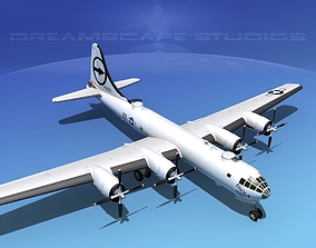 3D Boeing B-29 Superfortress Enola Gay