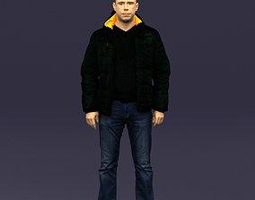 Cool jacket man 0399 3D