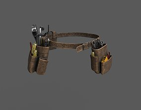 3D model VR / AR ready WorkerToolbelt