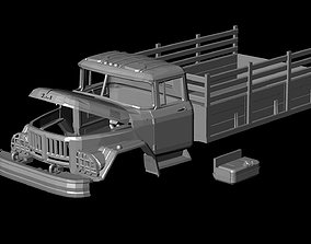 sla Zil 131 truck Printable Body Car