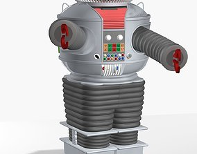 3D B9 Robot from Lost in Space