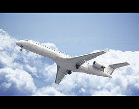 Bombardier CRJ-900 3D model