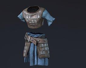 3D asset Light Armor