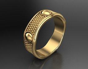 Damiani Ring 3D Print Model beauty