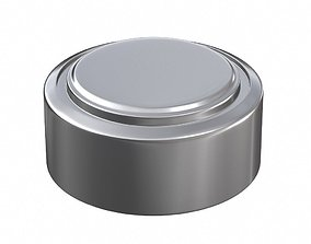 LR44 Alkaline Button Battery A76 1 55V 3D model