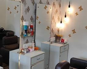 Barber Salon or Beauty salon interior 3D model