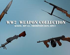 3D asset World War 2 Weapon Collection