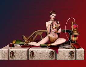 Slave Princess Leia 3D printable model