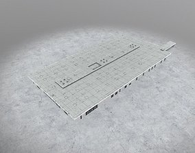 3D asset EDDB Technical Building 1