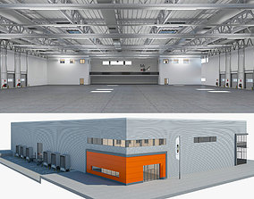 Warehouse Logistic 4 interior and exterior 3D