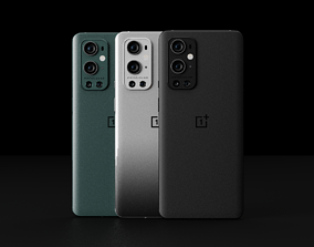 OnePlus 9 Pro in All Official 3D asset VR / AR ready