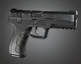 FPS Modern Handgun - Ogre 9 3D asset