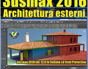 012 3ds max 2016 Architettura Esterni 12 Italiano cd 1