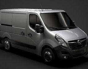 Opel Movano L1H1 Van 2020 3D model