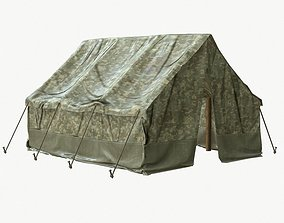 3D model Tent PBR Game Ready