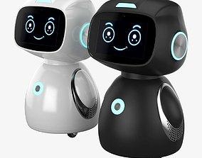 Yumi Smart Home Robot futuristic 3D