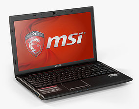 3D model MSI GE60 2PL Apache