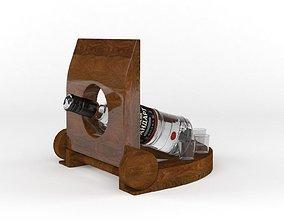 Russian Standart Vodka Bottle 3D model