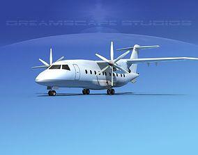 3D model Dornier Do-328-130 Unmarked 2