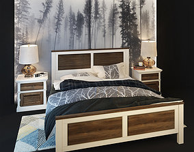 double bed Folk Wellige 3D