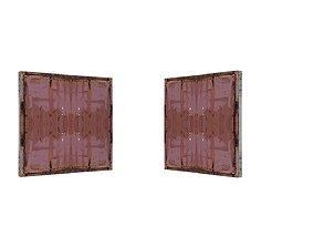 3D model Metal Door 01 05