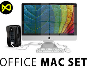 3D model Apple Office Mac Set