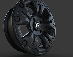 Wheels Fuel Vapor Black For RZR 3D model