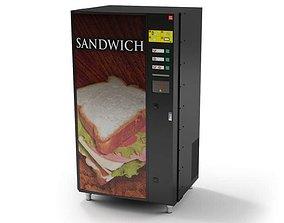 3D model Sandwich Vending Machine