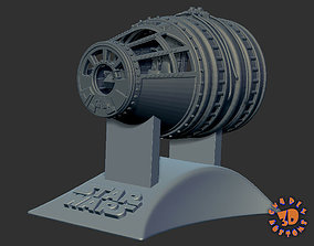 Millennium Falcon Cockpit - read 3D print model 2