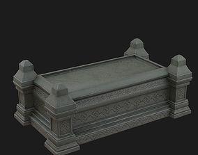 3D model Celtic Sarcophagus