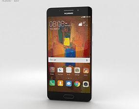 3D model Huawei Mate 9 Pro Titanium Grey