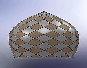 3D Dome tile