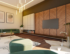 lumion Living Room 01 3D model