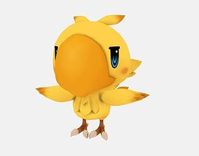 Chocobo from World of Final Fantasy 3D