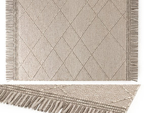 3D model BENUTA DAPHNE WOOL RUG