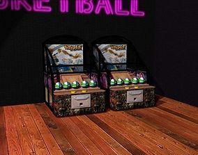 3D model Arcade Basketball Game