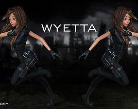 3D model Wyetta