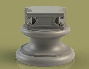 Marble Socle 05 pedestal 3D printable model