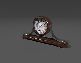 3D model game-ready Mantle Clock