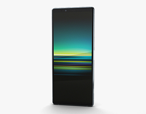 3D model Sony Xperia 1 Gray
