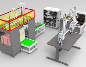 3D Feeding machine Assembly